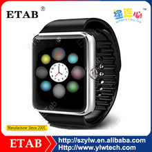 fashion design cheap Bluetooth GT08 Smart Watch with SIM Card Anti-lost Camera for Android Smart Phone