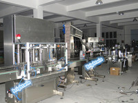 factory price automatic motor oil/lube oil filling capping machine