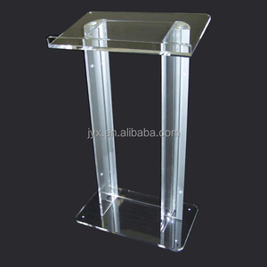 2017 best seller cheap price acrylic podium pulpit lectern