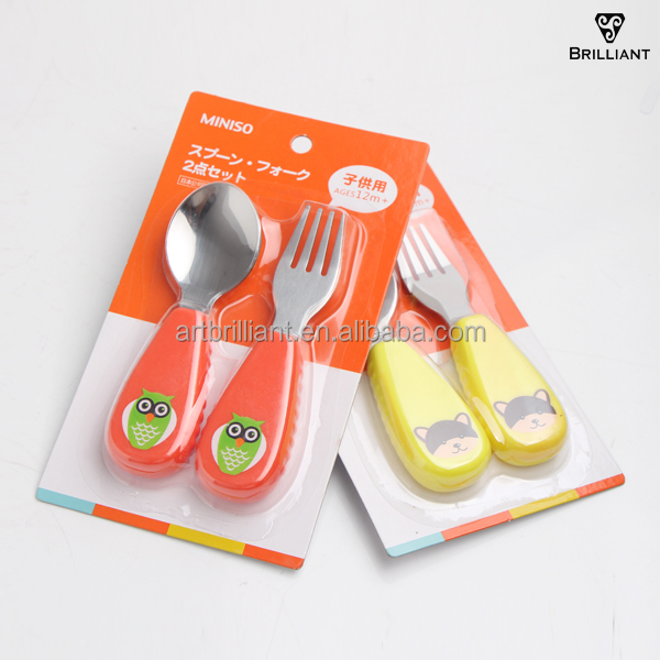 PP Handle Stainless Steel Cheap Bulk Wholesale Flatware