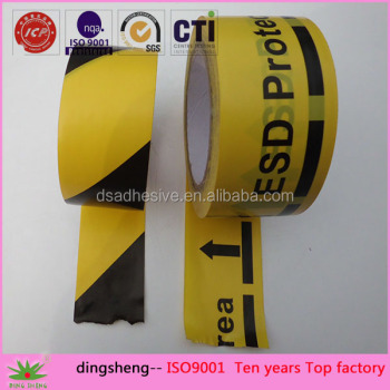 PVC warning tape or Logo printing tape