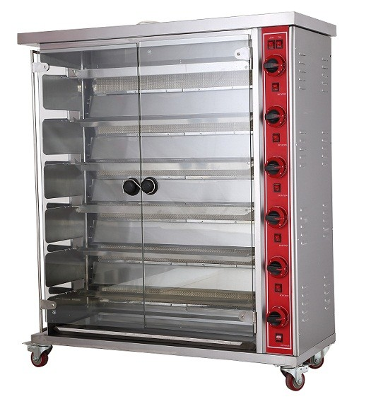 2016 Hot 6-Layer Kitchen Gas Rotisserie for chicken/chicken rotisserie oven