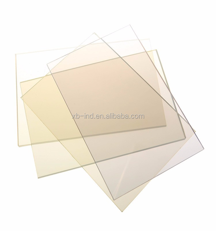 Clear PVC sole rigid sheets for shoes