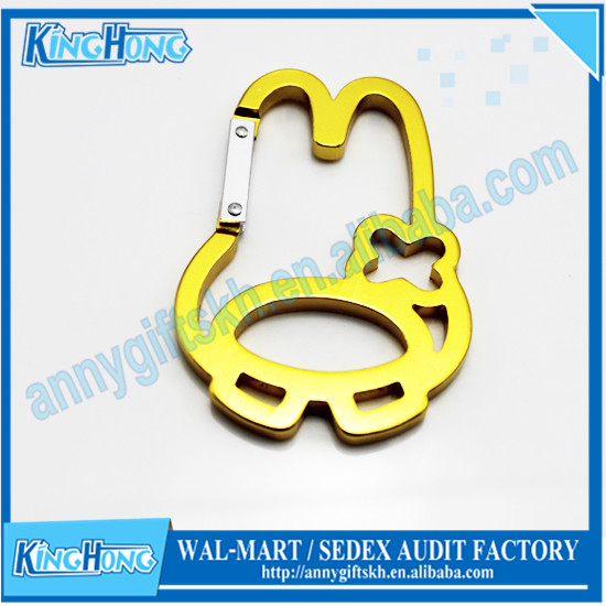 China Supplier Snap Carabiner Hook Keychain