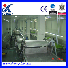 Hot sale stainless steel 304 process machine for fruit and vegetable washing and drying