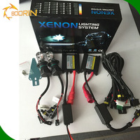 Multicolor hign lumen 3000k 6000k 8000k hid xenon bulb dual beam hid light 12v hid light h4 35w 55w canbus hid xenon kit