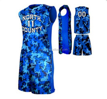 full sublimation camouflage basketball jersey uniform design short sleeve basketball jersey