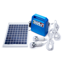 Outdoor Portable DC Solar Power System with 36 Cell Off-Grid