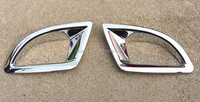 Car accessories ABS Chrome Car rear fog light cover trim for Mazda 3 Axela hatchback parts 2014