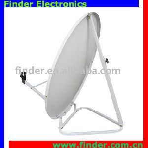 Ku Band Satellite Dish Antenna with Triangle Stand
