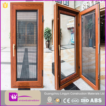 New Design Double Glazed Sash Windows For Home/Office Double Awning Aluminum Windows