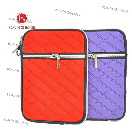 2015 High quality waterproof neoprene laptop sleeve case for IPAD