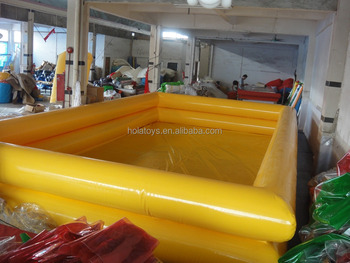 2016 pvc swimming pools/inflatable adult swimming pool for sale