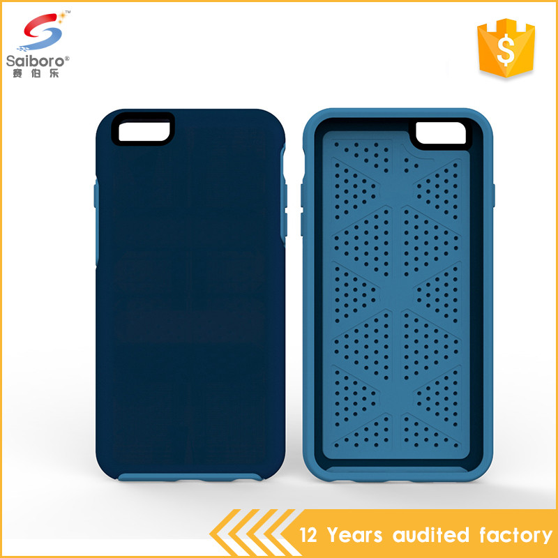 Popular style unique design 2 in 1 4.7 inch mobile phone case for iphone 6