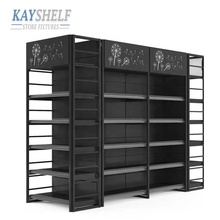 adjustable metal steel retail store gondola shelving display stand supermarket <strong>shelves</strong>