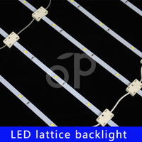Led ladder strip light for big size light box