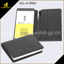 Fashion Leather Notepad Holder memo cover