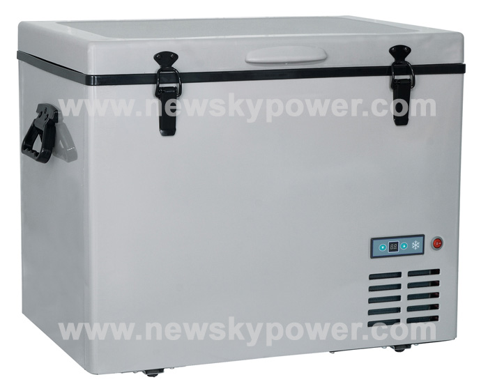 AC110V-240V DC12v 24v mini freezer horizontal micro freezer mini freezer