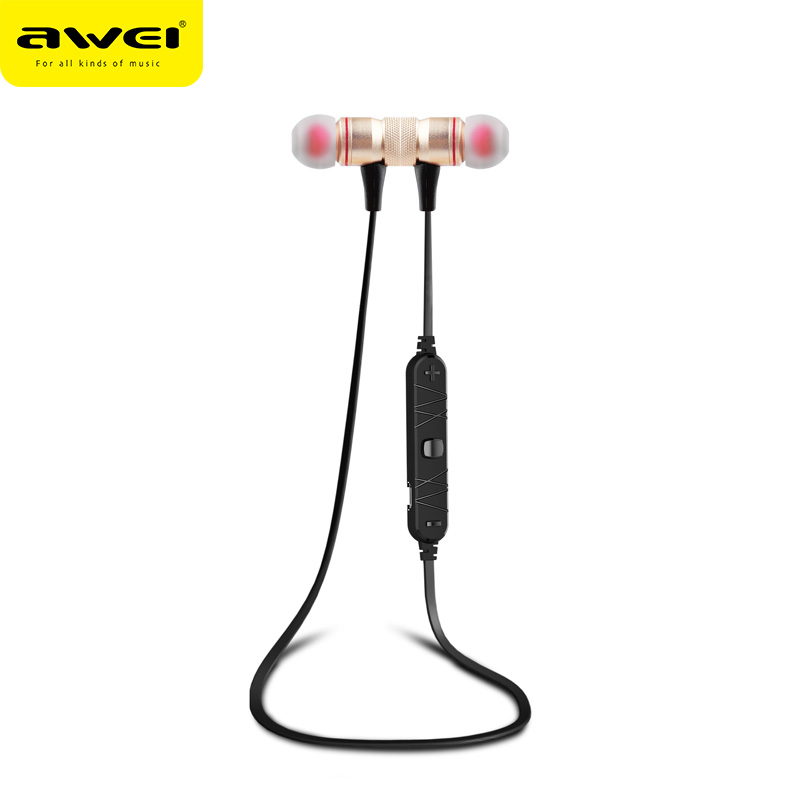 AWEI A920BL New Products 2017 Innovative Product OEM Mini Wireless Bluetooth Ear phones Sports Head sets Waterproof Audiophones