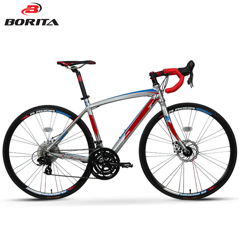 new design road racing bike with 21 speed road bicycle
