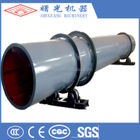 Good drying effect wood pellet rotary drum dryer