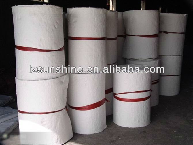furnace refractory insulation materials thermal ceramic fiber blanket