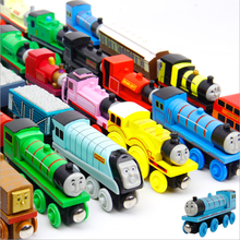 Early eudcational leaning toys Wooden small trains Thomas Game Pack