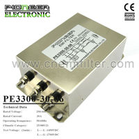 PE3300 1200A 250/440/480VAC Three Phase three line input filter for inverter,inductance filter