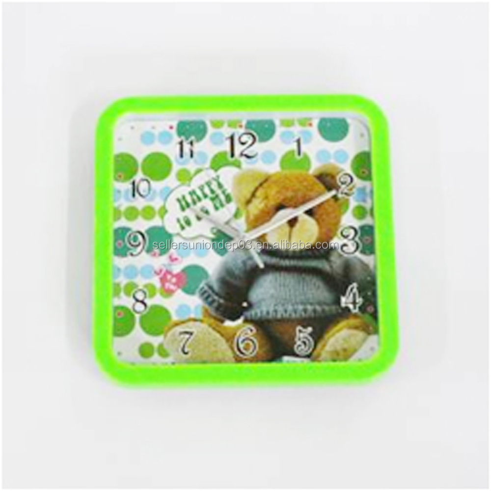 WG0727-22 Little-bear Picture Digital Wall Clock