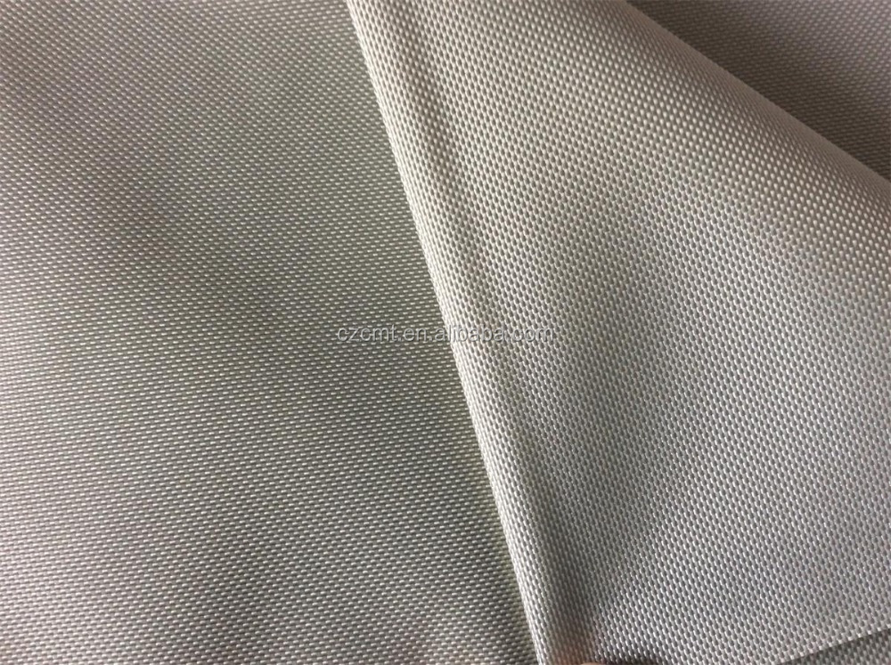 100% nylon oxford fabric 840D grey, PVC/PU coating