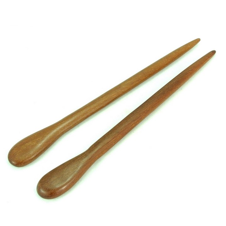 100% Red Sandalwood Hair Stick Wood Hairpin