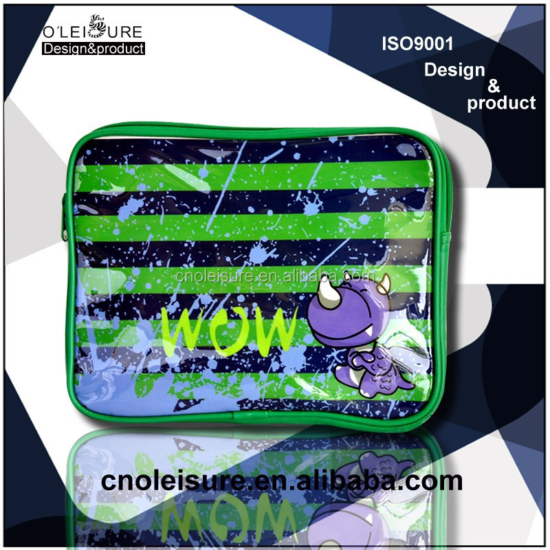 2015 wholesale New design kid's laptop cases with cute dinosaur