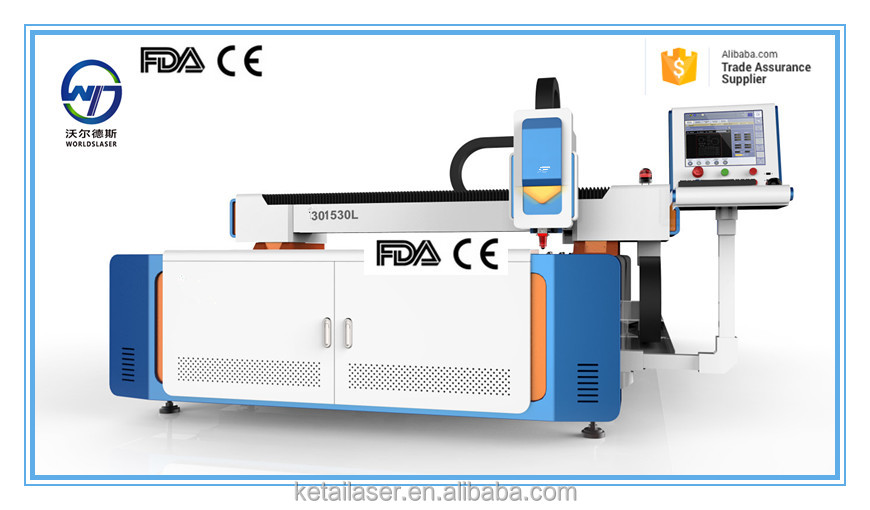 1530 working size cnc router sheet metal cutting machine , fiber cutting machine 500w , laser cutting machine