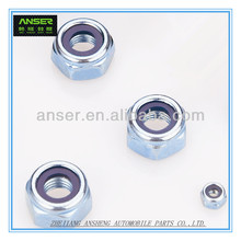 DIN982 hex nylon insert lock nut M20