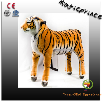 Best selling!!!walking mechanical horse pony, electric tiger toy, ride toys 5 year olds