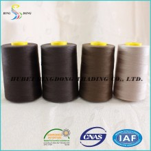 100% polyester sewing thread with spun yarn for textile fabric