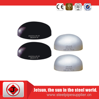 JIS carbon steel pipe cap ss,cs,alloy for pipe end