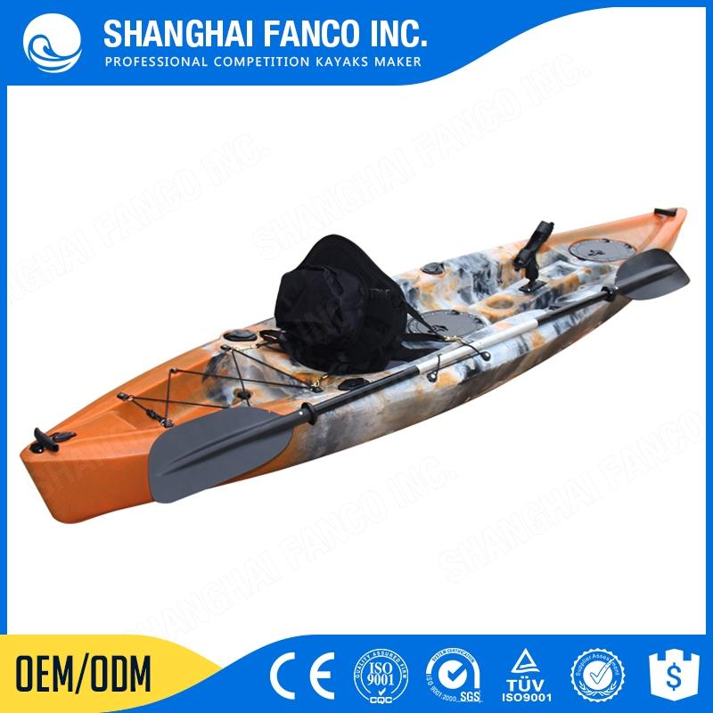 China funnest professional fishing kayak with paddle