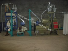 5 ton per day maize/wheat flour milling machine