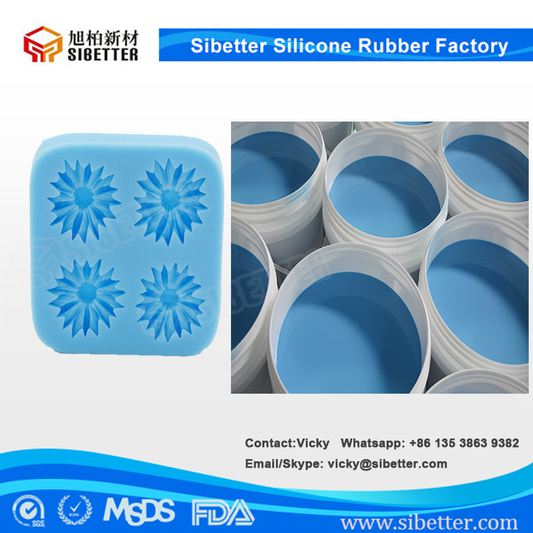 20 Shore A Food Grade Silicone Rubber for Silicone Divided Cake Pans