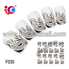 2014 new designs fashion nail ar sticker nail accessories opoola nail art decoration