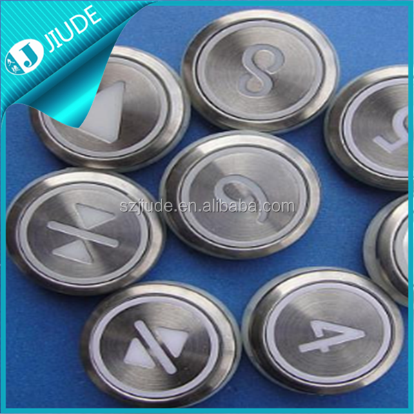 Kone Lift Button Sockets With Braille
