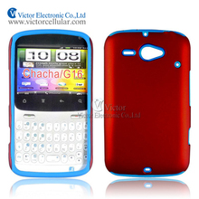 2014 innovative design mobile phone accessories made in China PC silicone hybrid case for HTC chacha G16