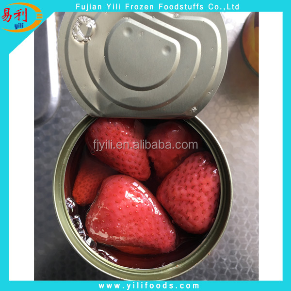 New Season Canned Strawberry in Light Syrup