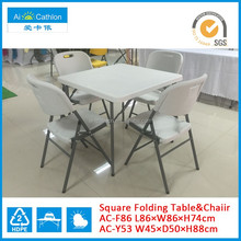 plastic folding mahjong table wholesale price plastic tables and chairs