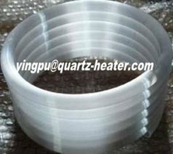 spiral quartz heating tube/coil tube heating element 1024