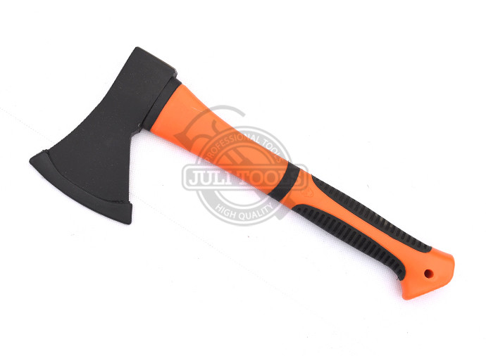 Forged Steel A613 Single TPR Handle Survival Felling Axe