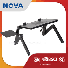 Made in China ergonomic 17 inch cooler folding table for laptop