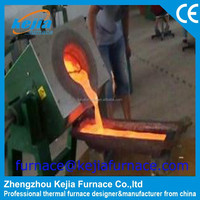 IGBT 1kg to 500kg gold, silver, copper, aluminum, stainless steel wire induction smelting furnace with rapid thermal processing