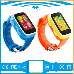 MTK6572 54g 3G Android smart Watch phone for kids
